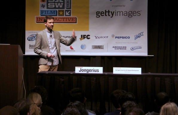 Pieter Jongerius op SXSW