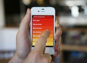 Clear. Een app met een simpel design én gestures.