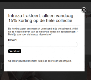padiaact test intreza.nl conversie verbetering