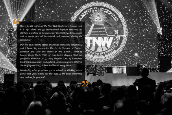 The Next Web 2013