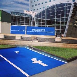 Eindhoven Airport Facebook VIP parkeerplaatsen