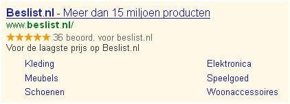 Beslist.nl-Usps-Advertentietekst