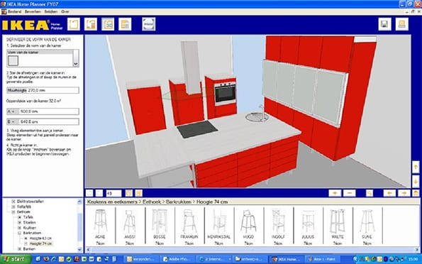 Woningen online ontwerpen verkopen 3 tips voor de for Keuken ontwerpen 3d ipad