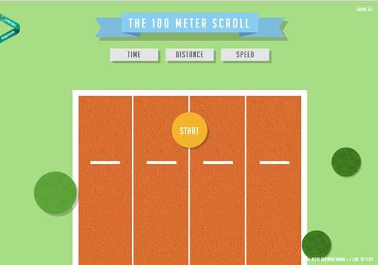 100meterscroll