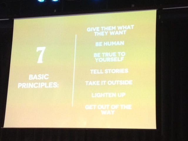 7 principles by Kristofer Crockett