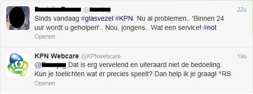 Tweet KPN webcare