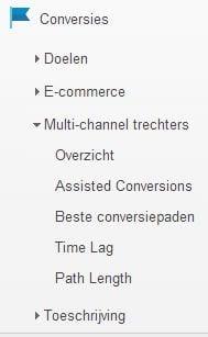 multi channel trechters