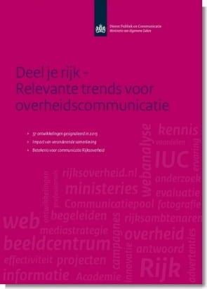 Deel je rijk – relevante trends voor overheidscommunicatie