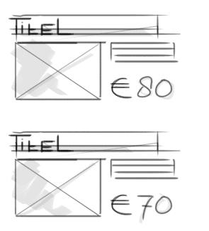 Adaptive weergave van een e-mail