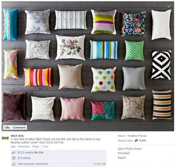 interactie-facebook-pagina