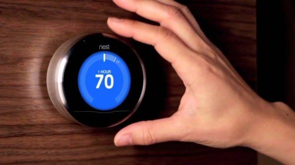 De Nest is een voorbeeld van een slimme thermostaat.