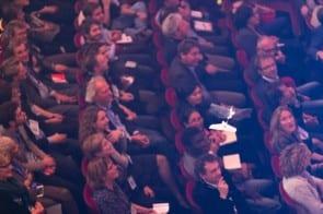 TEDxAmsterdam 2013 - Altijd spannend of de drone van een spreker niet op het publiek neerstort (foto: Patrick Stastra)