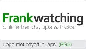 Frankwatching logo met payoff in .eps (RGB)