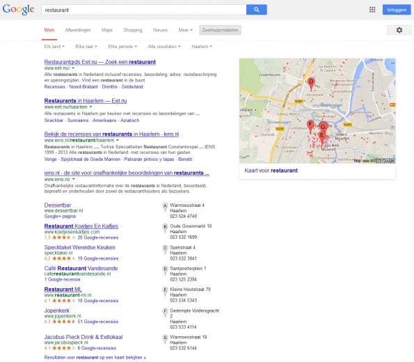'restaurant - Google zoeken'