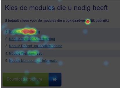visual AB test kernmodules