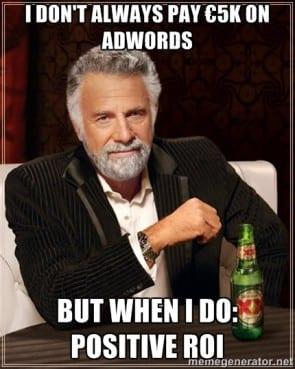 AdWords kill your darlings