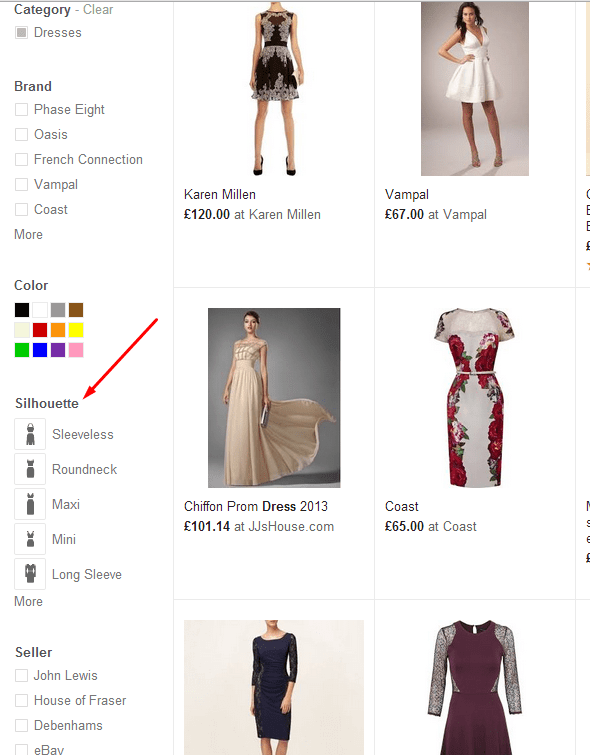 Google Shopping features - 1