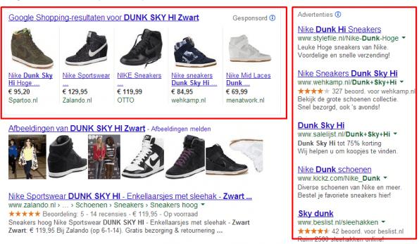 Google Shopping jan 2014 screenshot