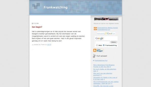 Framlwatching 7 februari 2004