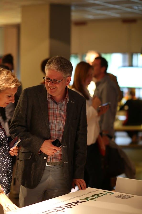 Frank Janssen en Maaike Vissink (Frankwatching Jobs) in S2M, Utrecht