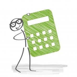 Taschenrechner, kalkulieren