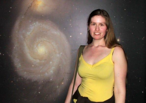 Hanny van Arkel babe in space