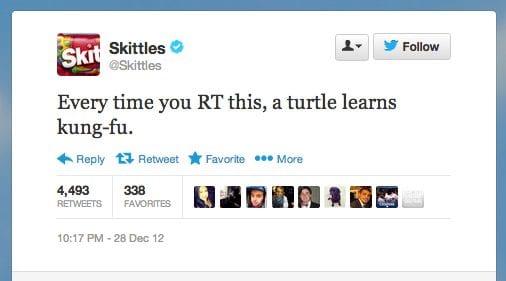 RT parodie skittles, humor