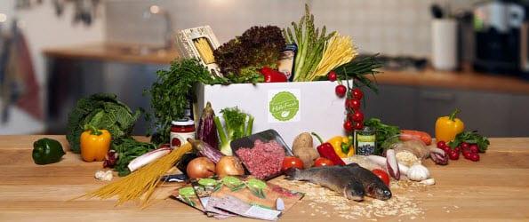 HelloFresh bezorgt ingrediënten voor de avondmaaltijd op abonnementsbasis