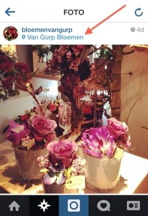 bloemenzaak-instagram-geotag