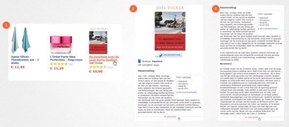 informatie aanbieden bol.com lees meer knop