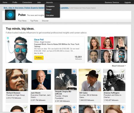 LinkedIn Top  Influencers