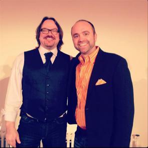 De twee roergangers van het Content Marketing Institute: Joe Pulizzi en Robert Rose