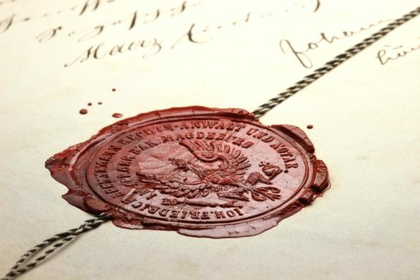 Zegel ondertekening © B. Wylezich - Fotolia.com