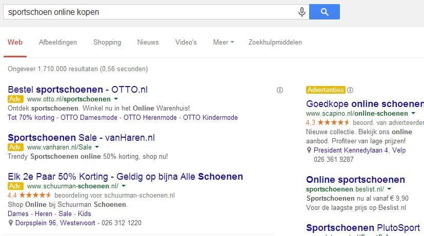 Te Google Adwords20 Je Kwaliteitsscores Verbeteren Actiepunten Om ybf76g