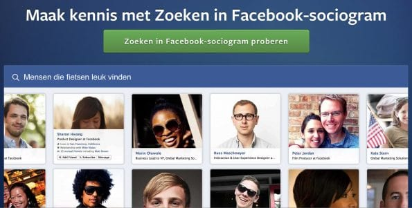 Facebook Graph Search voor Frankwatching