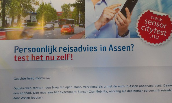 De gemeente Assen is als 'sensor city' al ver met (big) data experimenten