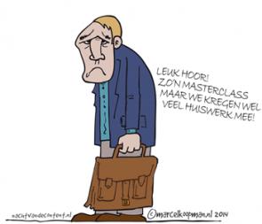 Cartoon van MarcelKoopman.nl