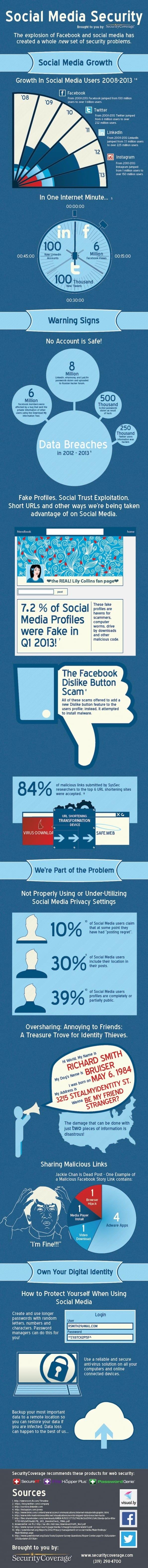 Veilig omgaan met social media - ben jij alert [infographic]