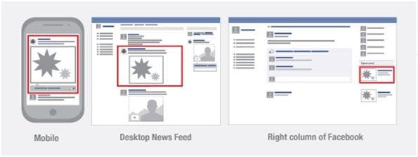 Facebook adverteren plaatsingen