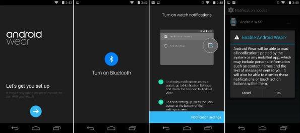 Android Wear wordt op je smartwatch geïnstalleerd vanaf je smartphone