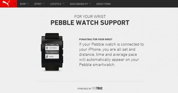 Puma probeert met haar fitness app voor de smartwatch een plek te veroveren in het digitale ecosysteem