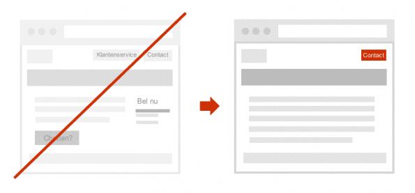 Voeg vergelijkbare content en functionaliteiten samen