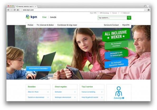 homepage KPN