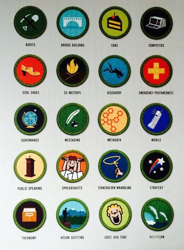 medailles van verdienste voor de contentstrateeg