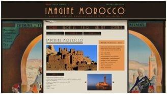 Blog van Imagine Morocco, ontwerp van 99designs' community