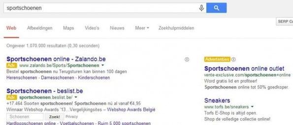 Keyword research: Google-suggesties