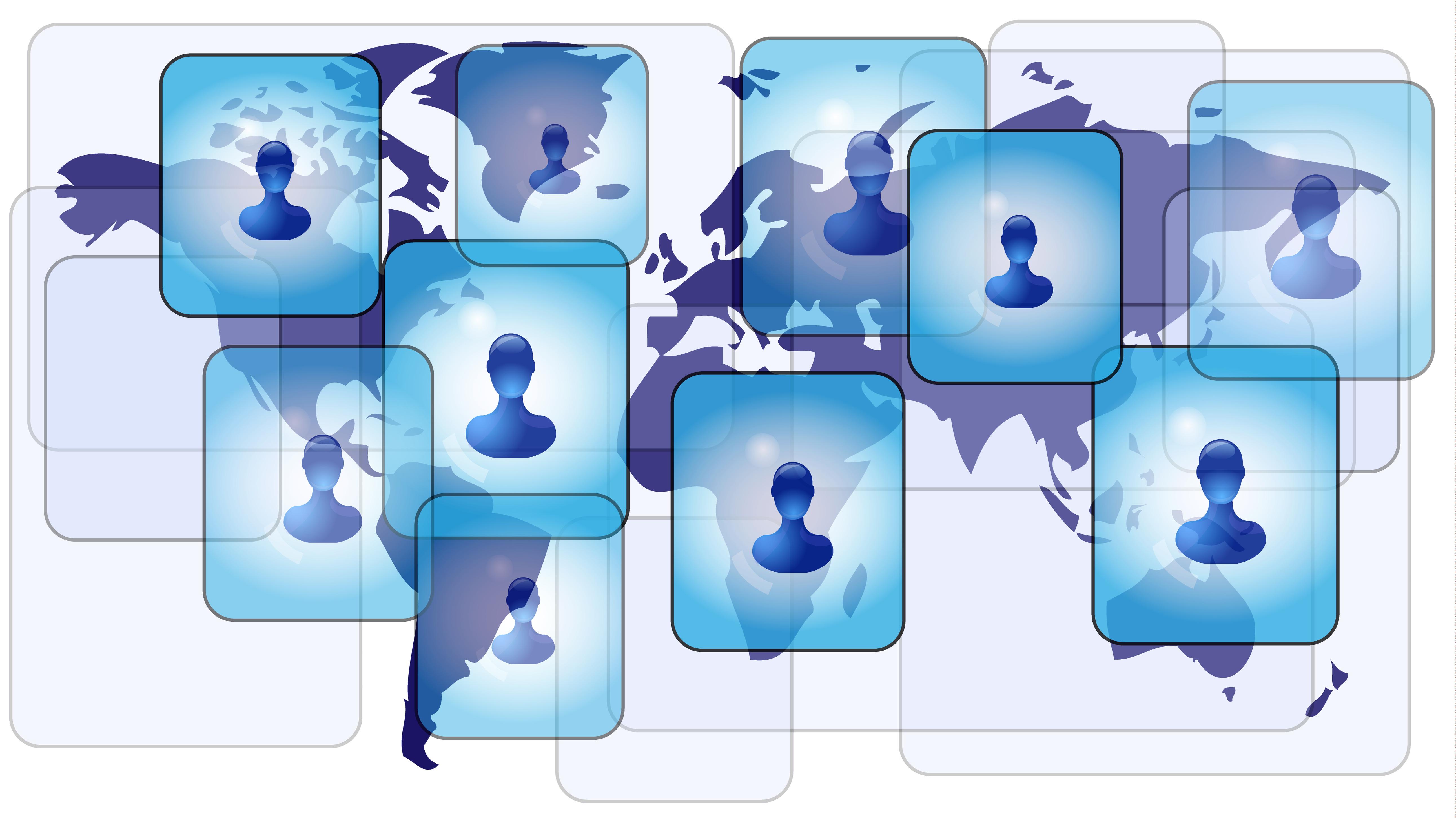 Linkedin Icon Blue – Air Media Design