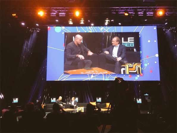 Tim Berners Lee op LeWeb
