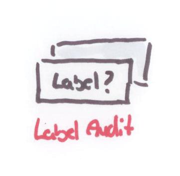 Label-audit