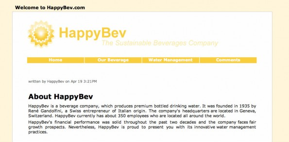 HappyBev intro